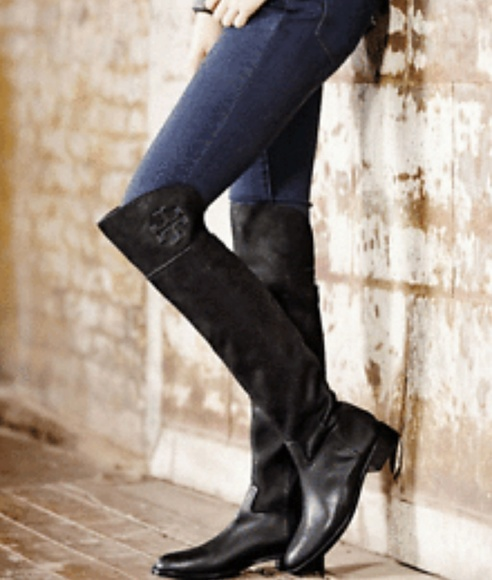 d795cc2af79 Tory Burch Leather Over the Knee Simone Boots. M 5b8c2d0d8ad2f9cb0fc4a610